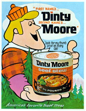 First names Dinty Second names Moore