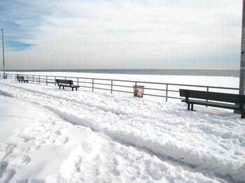 Beach Snow