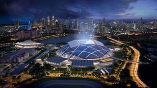 The_new_National_Stadium_and_Singapore_Indoor_Stadium_set_against_the_city_s_skyline_